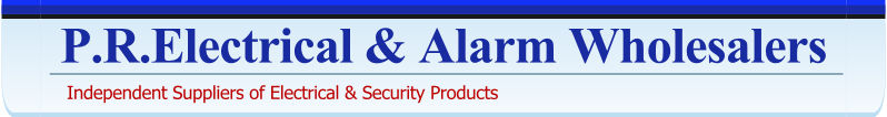 P.R.Electrical & Alarm Wholesalers-Independent Suppliers of Electrical and Security Products - Birmingham UK